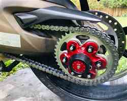 William A. verified customer review of Ducati 1299 Panigale / Monster 1200 Carrier Cover Hub Flange 6 Hole