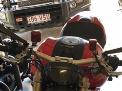 Matthew W. verified customer review of Ducati / MV Agusta Front Brake Fluid Reservoir Tank 25ML Pramac