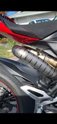 randall c. verified customer review of Ducati 1199 Panigale Front Titanium Pipes For Akrapovich