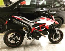 ilan b. verified customer review of Ducati Hypermotard 821 Exhaust High Slip on EvoExtreme 310