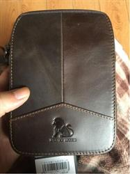 barb verified customer review of Cowhide Leather Messenger Bags