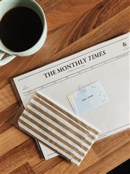 Nicole M. verified customer review of The Monthly Times Desk Planner