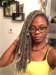 Rayna B. verified customer review of Bobbi Boss Senegal Bomba Dreadlocks Faux Locs Soul