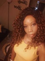 India P. verified customer review of Outre Swiss X Lace Front Wig Ariana