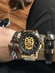 John Friend verified customer review of Steampunk Skull Fashion Wrist Watch