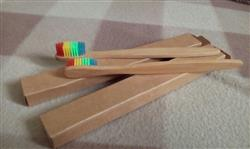Albert Smith verified customer review of LGBT Pride Bamboo Toothbrush