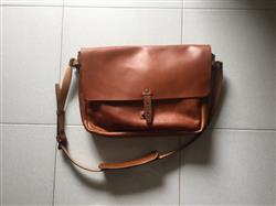 ANDY T. verified customer review of Vintage Leather Messenger Bag