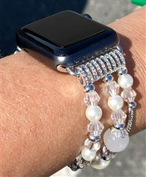 Dayna R. verified customer review of Agate Bead Apple Watch Bracelet (38mm/42mm) - 4 colors available