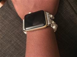 Jeannie R. verified customer review of Agate Bead Apple Watch Bracelet (38mm/42mm) - 4 colors available