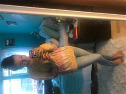 Anonymous verified customer review of Yellow Tye Dye Top