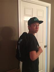 April R. verified customer review of Dude Perfect Backpack III - Black + Green