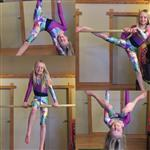 Mondor 7842C - Pattern Print Gymnastic Capri Leggings Girls