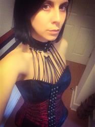 Alison W. verified customer review of Earnest Gothic Overbust Corset with Neck Gear