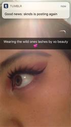 Milly E. verified customer review of The Wild One False Lashes