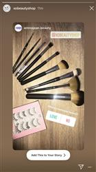 Emma A. verified customer review of 9pc Brush set