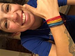 Carrie H. verified customer review of Kolores Friendship Bracelet