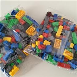 Richard  verified customer review of PROLOSO 1500 Piece Building Blocks Bulk 12 Shapes Colorful Educational Mass Pack