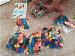 Randy.Birch verified customer review of PROLOSO 1500 Piece Building Blocks Bulk 12 Shapes Colorful Educational Mass Pack