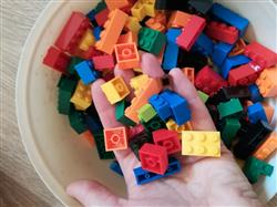 Robert. J verified customer review of PROLOSO 1500 Piece Building Blocks Bulk 12 Shapes Colorful Educational Mass Pack