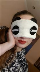 Anna.V verified customer review of 12 Pack Sleep Masks Panda Blindfold Eyepatch Eyeshade with Elastic Strap Nap Cover