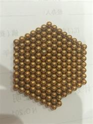 Sofia  verified customer review of PROLOSO Buckyballs Magnetic Ball Sculpture Toys for Intelligence Development and Stress Relief (5MM Set of 216 Balls), Gold/Sliver