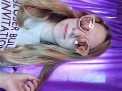 Bri S. verified customer review of Selena sunnies - Rosegold