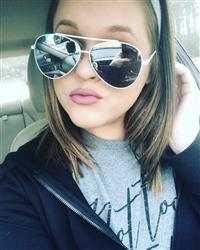 AmberLee D. verified customer review of Amelia Sunnies - Silver + White Frame