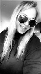 Madisonn C. verified customer review of Amelia Sunnies - Silver + White Frame