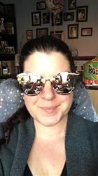 Kathryn H. verified customer review of Candy Sunnies -  Rose Gold