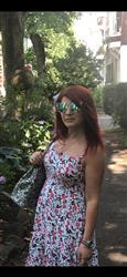 Belinda P. verified customer review of Aura sunnies - Blue