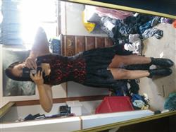 Samantha H. verified customer review of Akaki Gothic Lace Overlay Mullet Dress