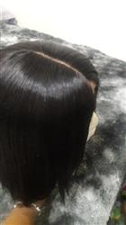Kay Hedrick verified customer review of Shela Hair Bob Wig Straight Lace Front Wig 8-16inches