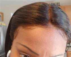 Tracy Crutchfield verified customer review of Shela Hair Lace Front Wig Straight Human Hair Wigs