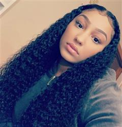 Alexis Wallace verified customer review of Shela Hair Glueless Full Lace Wig Deep Wave 150% Preplucked Wigs
