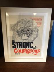 amber f. verified customer review of Be Strong & Courageous