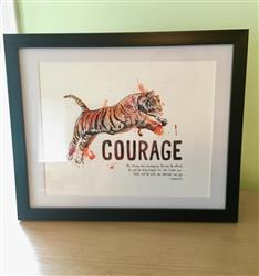 Natasha R. verified customer review of Courage