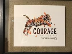 aubrey b. verified customer review of Courage