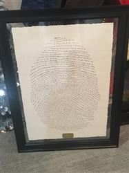 Ashley D. verified customer review of 18x24 God's Fingerprint Screenprint