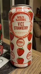 James P. verified customer review of Wild Barrel San Diego Vice with Strawberry