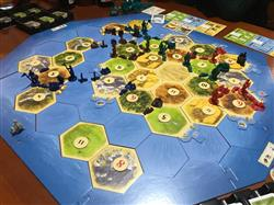 Rodolfo H. verified customer review of Catan: Ciudades y Caballeros Expansión