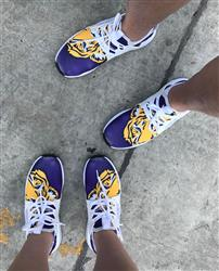Melissa R. verified customer review of LSU Tigers Sports Shoes