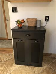 Susan verified customer review of tilt out double bin with a drawer slim style - black (D-SLIM-DRAW-B)