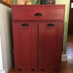 Jeans Fl verified customer review of tilt out double bin with a drawer slim style raw unfinished (D-SLIM-DRAW-RAW)