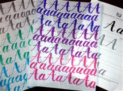 Natalie S. verified customer review of 30 Days of ABCs for Large Brush Pens