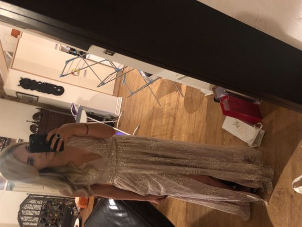 Megan C. verified customer review of Jemmia Maxi Dress