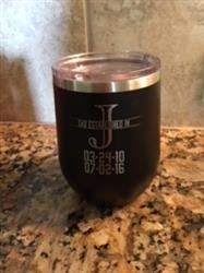 Tiel M. verified customer review of 12oz Whiskey Tumbler with Monogram