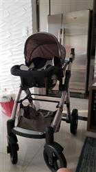 Tishana verified customer review of Baby Stroller 3 in 1 with Car Safety Seat,Baby Carriage Prams European Strollers