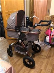 Maryan verified customer review of Baby Stroller 3 in 1 with Car Safety Seat,Baby Carriage Prams European Strollers