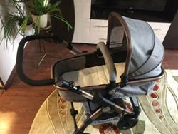Taylor verified customer review of Baby Stroller 3 in 1 with Car Safety Seat,Baby Carriage Prams European Strollers