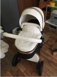 Corrine verified customer review of Baby Stroller 3 in 1 With Car Seat High View Pram For Newborns Folding 360 Degree Rotation